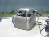 Lake Norman Soda Blasting Truck Cab